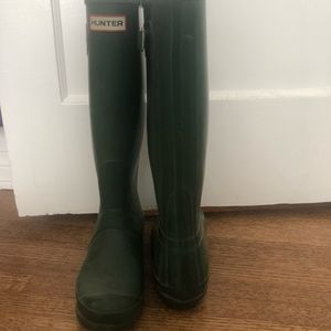 HUNTEr boots - worn in